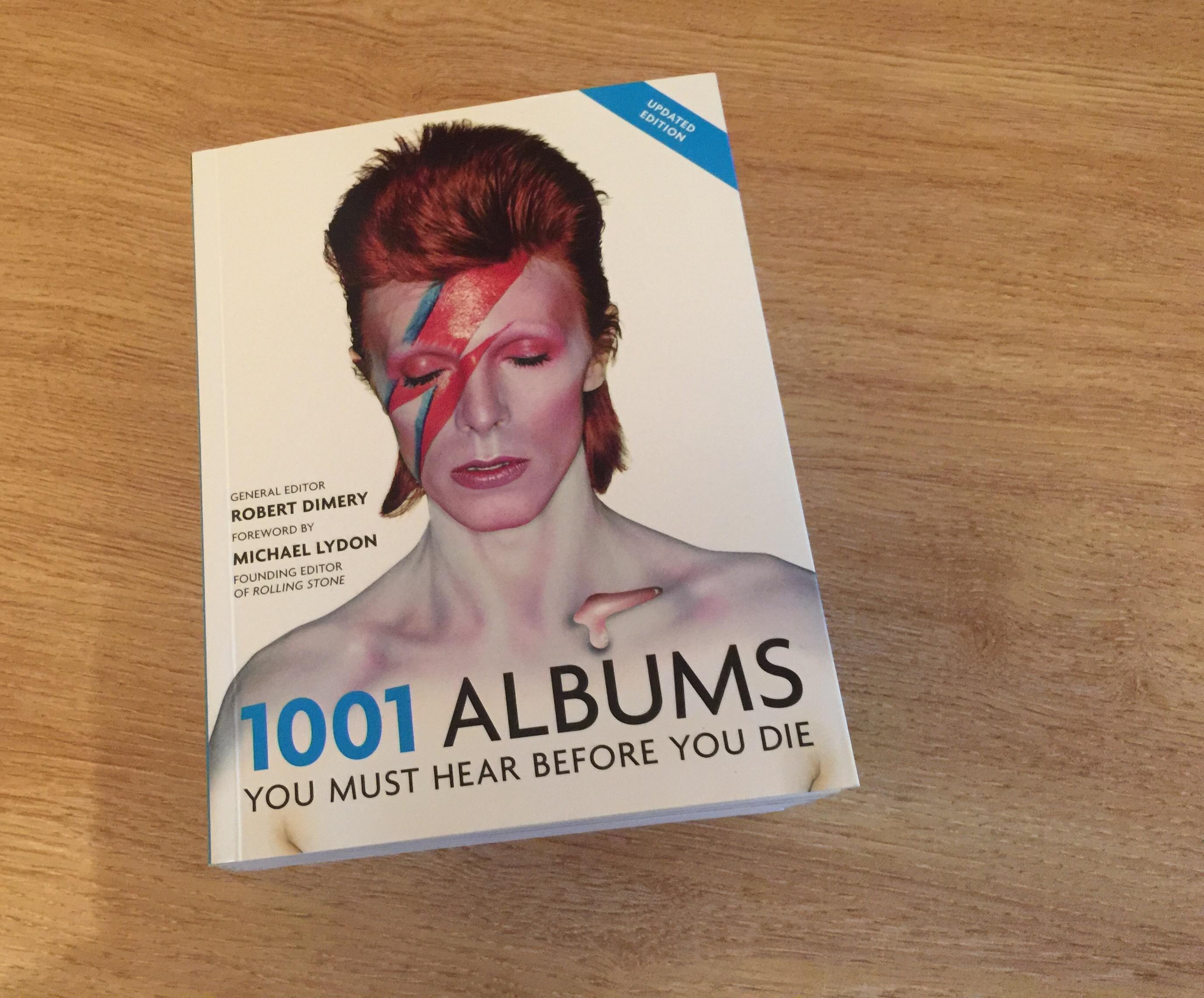 Quarkmonkey's 1001 Album challenge
