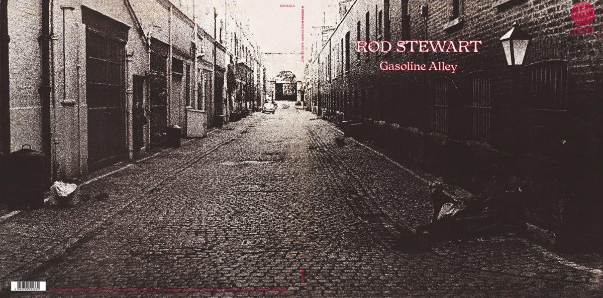 Rod Stewart - Gasoline Alley (foldout)